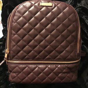 ALDO Brown Burgundy Backpack